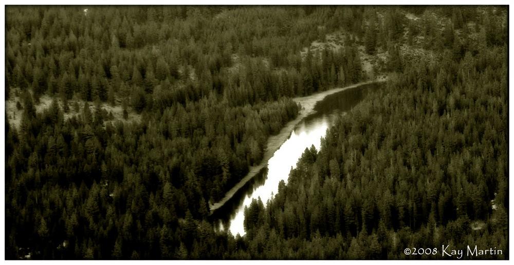 photoblog image Over Sun River, Oregon