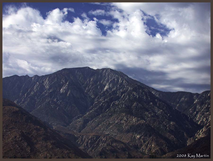 photoblog image mountains in palm springs