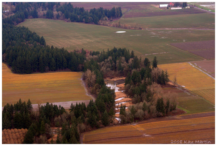 photoblog image over oregon fields, late winter 2008