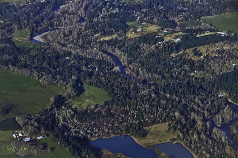 photoblog image Over Tualatin Valley, Oregon